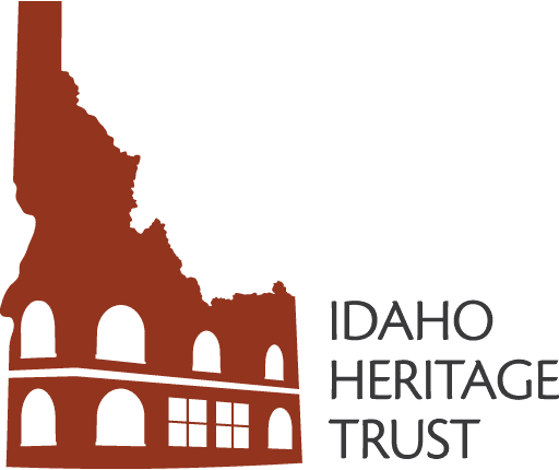 Idaho Heritage Trust Logo Red Small